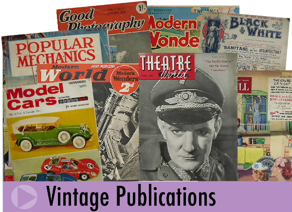 Jeremy's Books of Southampton sell vintage magazines and newspapers online