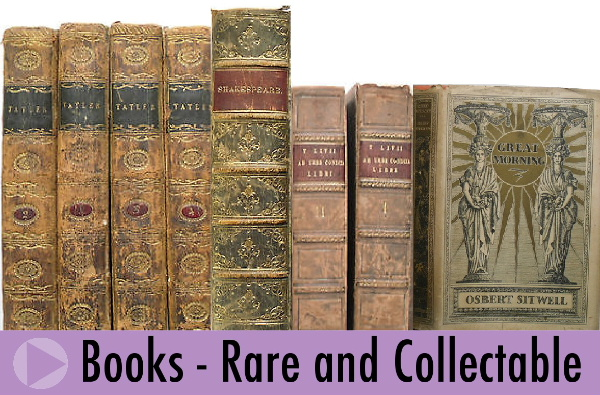 Rare and Collectable Books sold by Jeremy's Books of Southampton, England