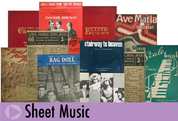 Jeremy's Books of Southampton specialise in the sale of old sheet music