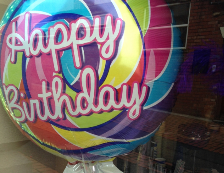 Happy Birthday Lollipop at Confection Affection