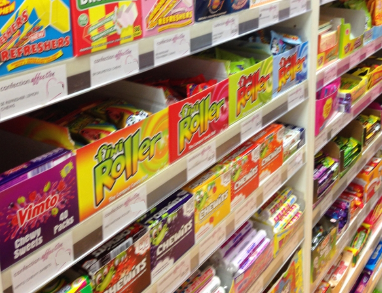 Tuck Shop favourites at Confection Affection