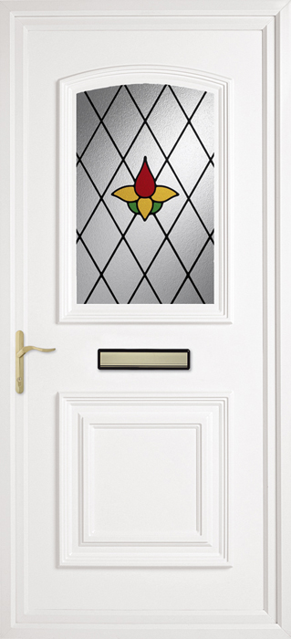 Bluntisham Amber uPVC panel door from Bicester UPVC direct