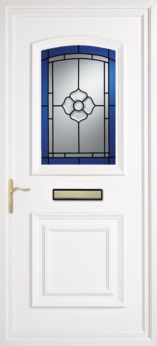 Blue Rose uPVC panel door from Bicester UPVC direct