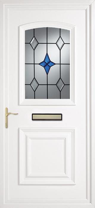 Blue Star uPVC panel door from Bicester UPVC direct