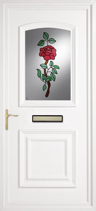 Bluntisham Cameo Rose uPVC panel door from Bicester UPVC direct