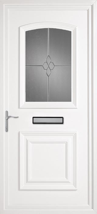 Bluntisham CK6 uPVC panel door from Bicester UPVC direct