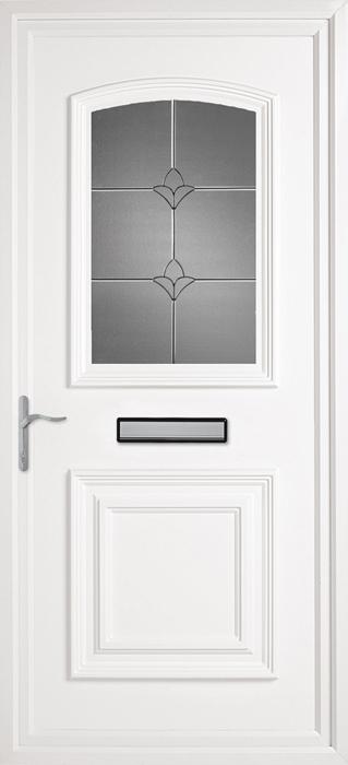 Bluntisham CK7 uPVC panel door from Bicester UPVC direct