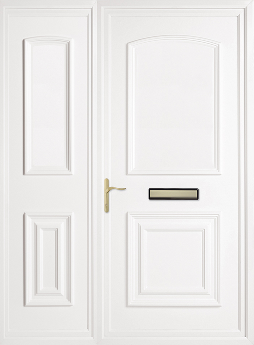 Bluntisham Solid Side Panel uPVC panel door from Bicester UPVC direct