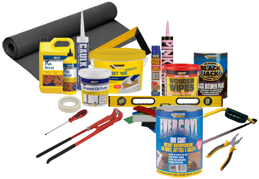 Builders products and tools from Bicester UPVC direct