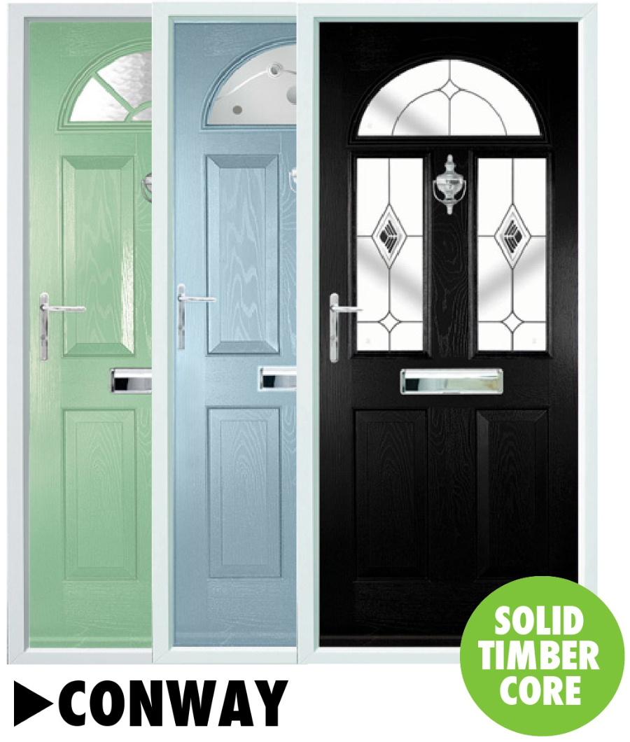 Composite doors Conway Range