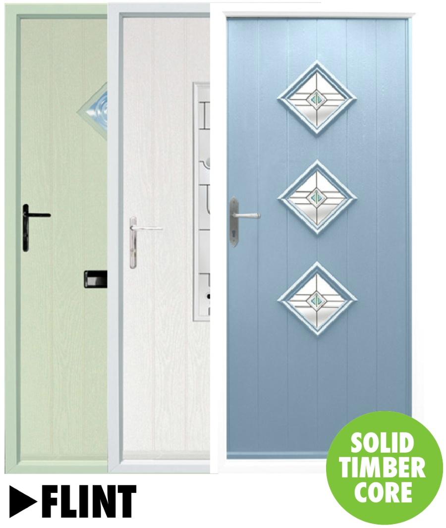 Composite doors Flint Range