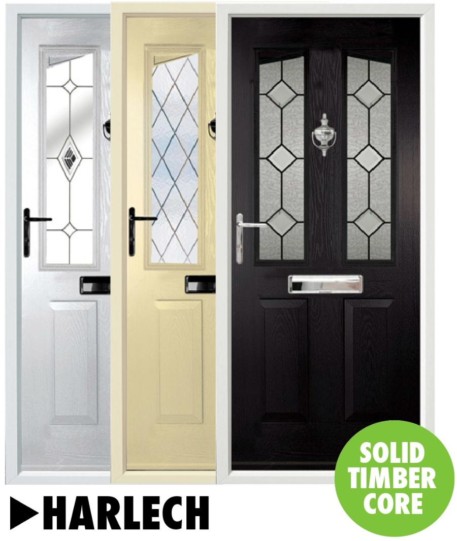 Composite doors Harlech Range