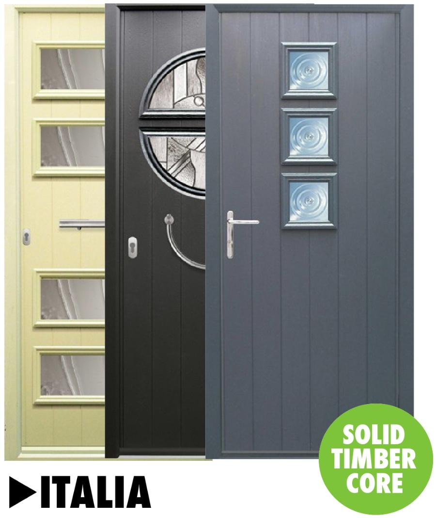 Composite doors Italia Range