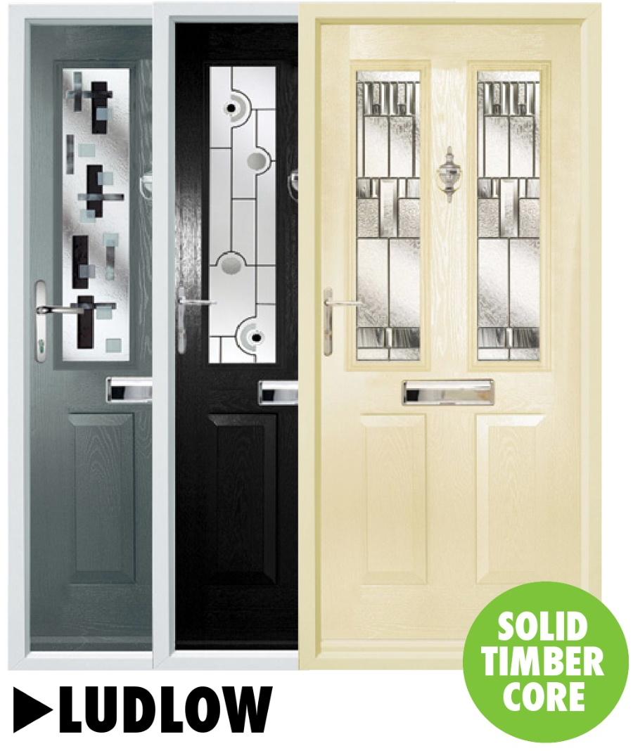 Composite doors Ludlow Range