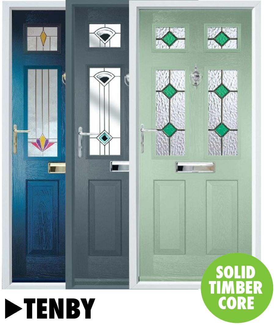 Composite doors Tenby Range