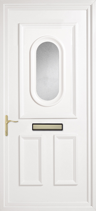 Chatteris Obscuresa uPVC panel door from Bicester UPVC direct