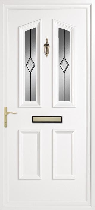 Colne diamond uPVC panel door from Bicester UPVC direct