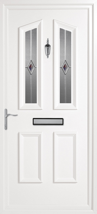 Colne CK12 uPVC panel door from Bicester UPVC direct