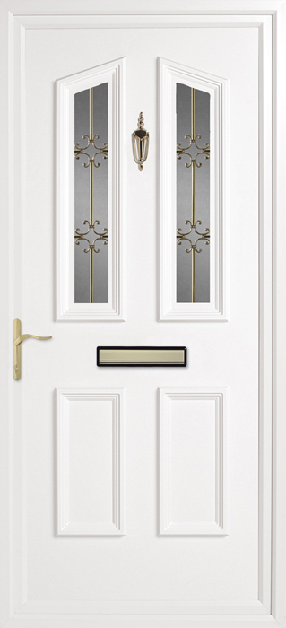 Colne CK11 uPVC panel door from Bicester UPVC direct