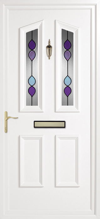 Colne Pearl uPVC panel door from Bicester UPVC direct