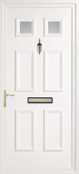 Doddington Obscure uPVC panel door from Bicester UPVC direct