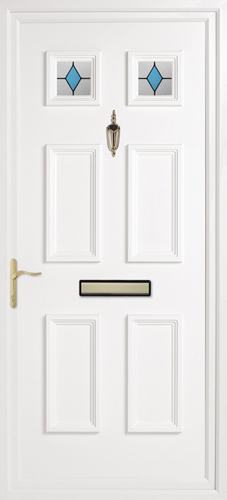 Doddington Jewel uPVC panel door from Bicester UPVC direct