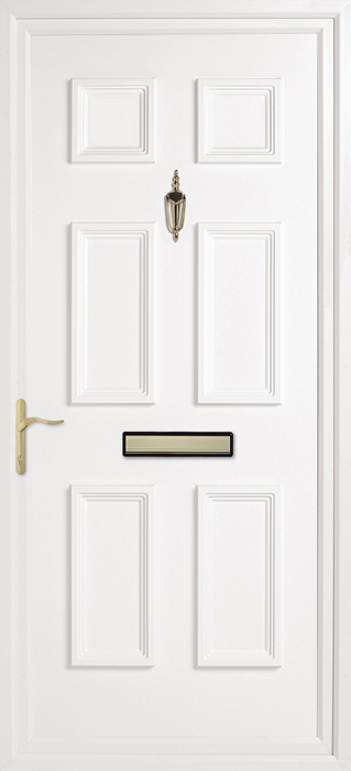 Doddington Solid uPVC panel door from Bicester UPVC direct