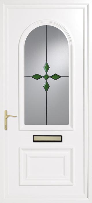 Earith emerald dream uPVC panel door from Bicester UPVC direct
