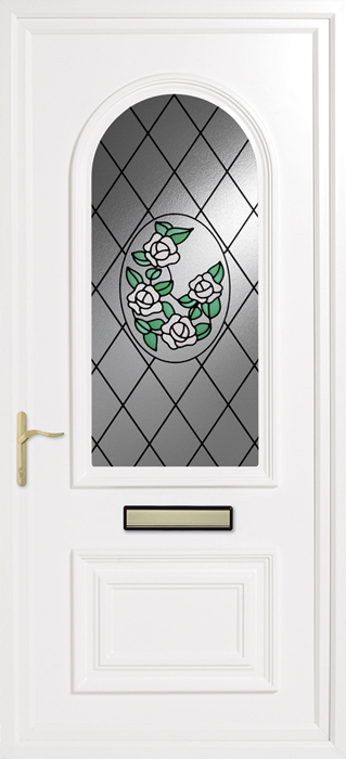 Earith bouquet uPVC panel door from Bicester UPVC direct