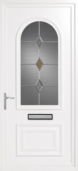Earith CK1 uPVC panel door from Bicester UPVC direct