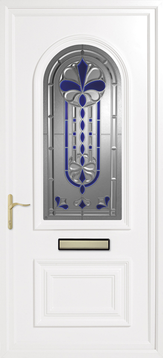 Earith Blue uPVC panel door from Bicester UPVC direct