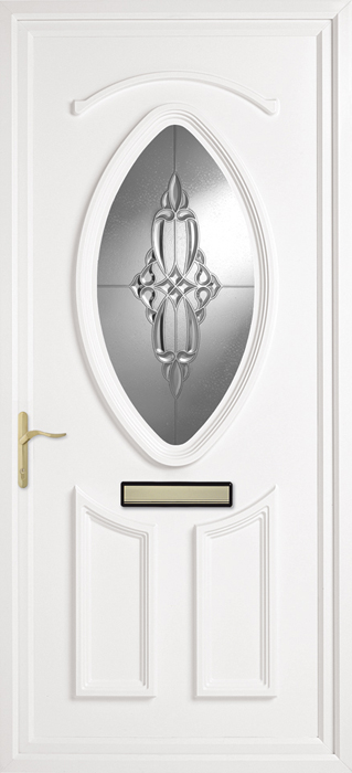 Hemingford Clear uPVC panel door from Bicester UPVC direct