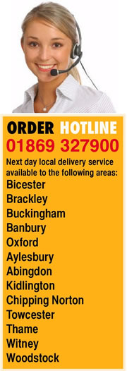 Bicester UPVC direct order hotline 01869 327900