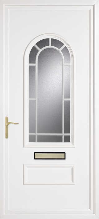 Huntingdon Classic Geobar uPVC panel door from Bicester UPVC direct