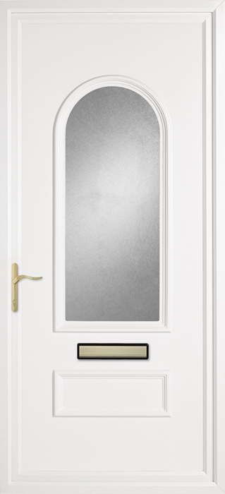 Huntingdon Obscure uPVC panel door from Bicester UPVC direct