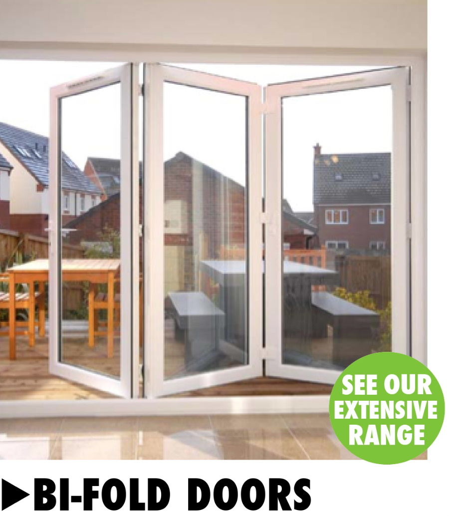 Bi-fold doors from Bicester UPVC