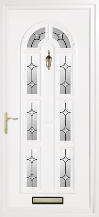 Kimbolton clear solar upvc panel door from Bicester UPVC direct