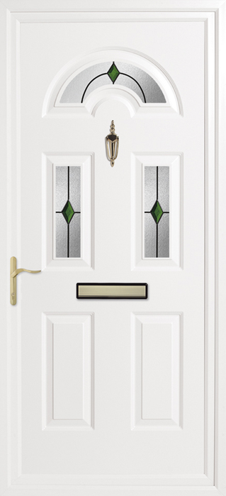 Kings Emerald Inverted Mouldings uPVC panel door from Bicester UPVC direct