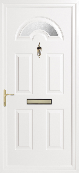 Kings Obscure uPVC panel door from Bicester UPVC direct