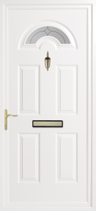 Kings Starlet Inverted Mouldings uPVC panel door from Bicester UPVC direct