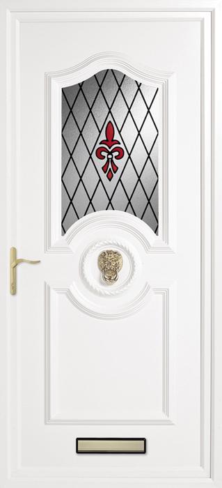 Papworth Renaissance upvc panel door from Bicester UPVC direct