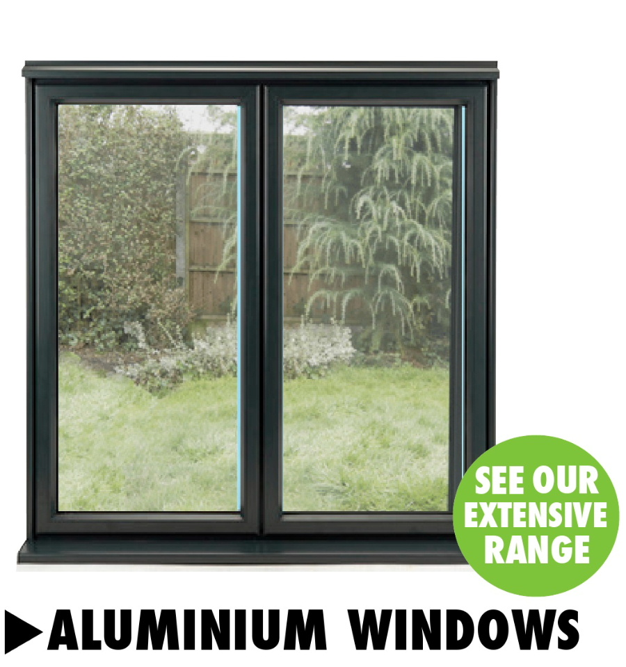 Aluminium windows from Bicester UPVC direct