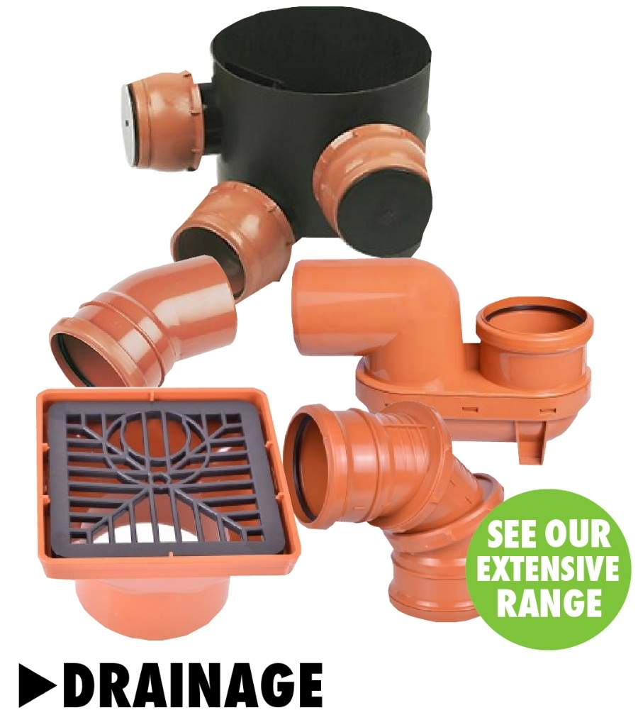 Drainage products from Bicester UPVC direct