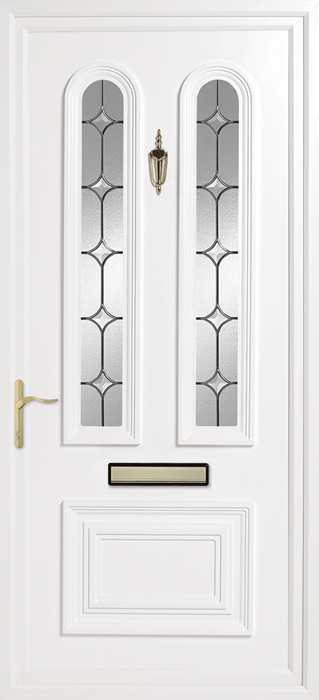 Papworth clear Solar upvc panel door from Bicester UPVC direct