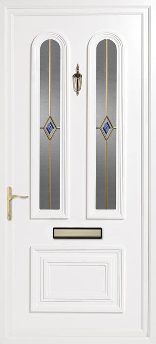 Papworth GK5 uPVC panel door from Bicester UPVC direct