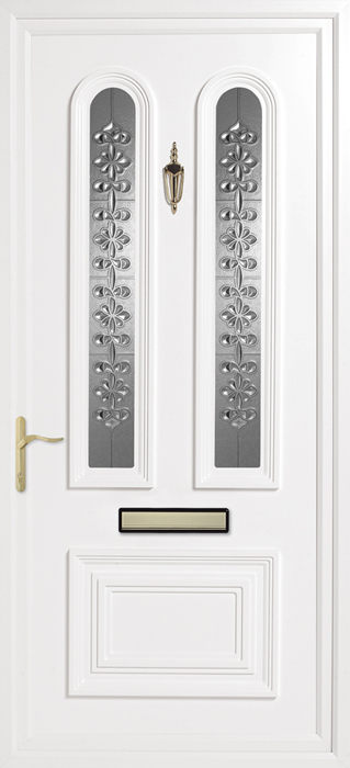 Papworth Clear uPVC panel door from Bicester UPVC direct