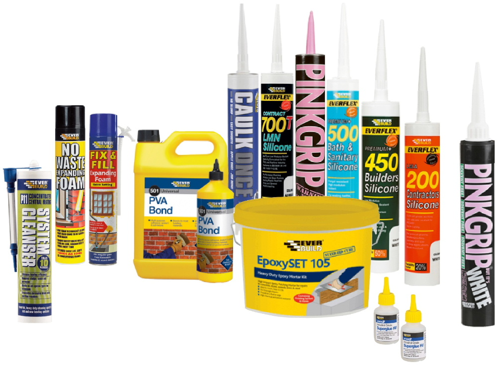 foams, sealants and adhesives from Bicester UPVC direct