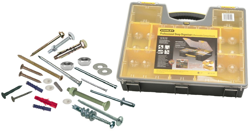 Screws, nails and fixings from Bicester UPVC direct