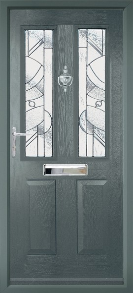 Ludlow composite door - grey