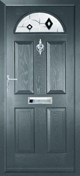 Conway composite door - grey
